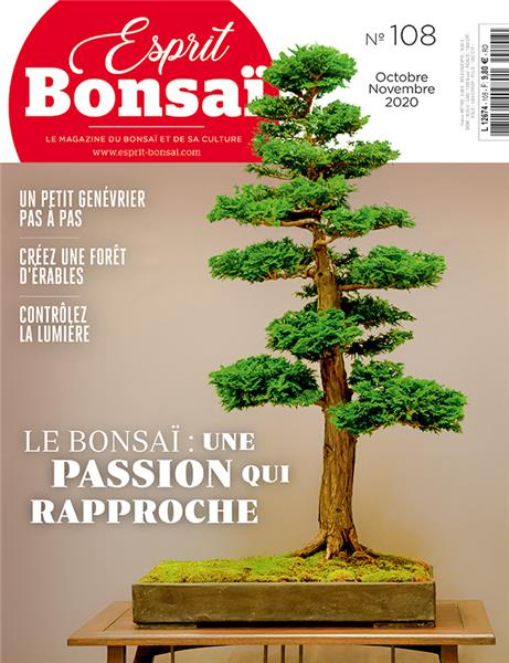 Esprit Bonsaï n°108 - Octobre-Novembre 2020
