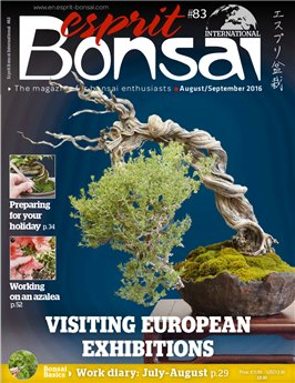 Esprit Bonsai International #83 Aug-Sept 2016